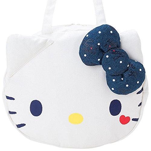 c9f66dac6 Tote Bag Hello Kitty Face canvas JAPAN 4901610702383 | eBay