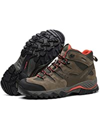 [HIFEOS]トレッキングシューズ メンズ レディース 防水 ハイカット 28.0cmまで 幅広 大きいサイズ ダイヤル 防滑/登山靴/通気性/ 耐磨耗/衝撃吸収/軽量 アウトドア/ハイキング/山歩き/里歩き/登山道