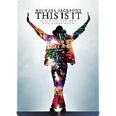 【Amazon.co.jp限定】マイケル・ジャクソン THIS IS IT スチールブック [DVD]