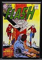 The Flash # 123コミックブックカバー冷蔵庫マグネット。Reverse Flash 。