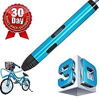 (7テック) 7TECH 3D印刷ペン LCDスクリーン 3Dモデリング アートデザイン Amazon専用セット