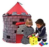 Knight 's Castle Play Tent by finerkids Boys Girls Pop Up