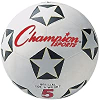 メンズサッカーボール、Championサイズ5 Rubber Youthレディースメンズライトサッカーボールキッズ