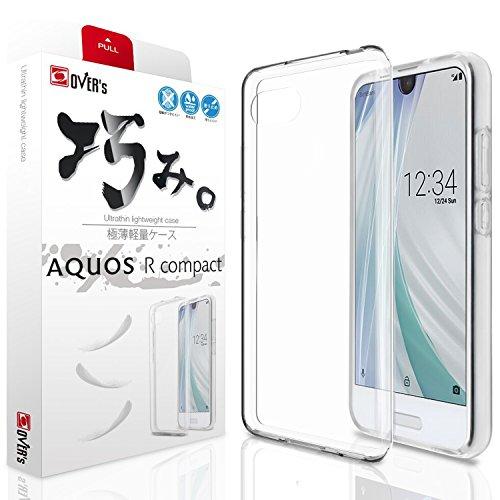 【 AQUOS R Compact ケース 】 アクオス S...