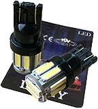 (ライミー)LIMEY 最新!5W級 爆光 T10 LED バルブ10連×2SMD 20チップ搭載 SMD7020 白 ホワイト【6000-6500K 】黒ベース 2個入り 保証書付き