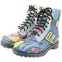 MEIGUIshop Rain Boots - Non-Slip wear-Resistant Mountaineering Rubber Boots