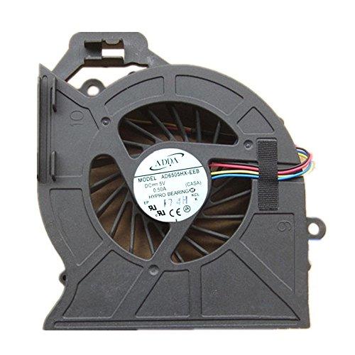 ノートパソコンCPU冷却ファン ビバボ DV6-6100 AD6505HX-EEB 適用する HP PAVILION DV6-6000 DV7-6000 修理交換用 CPU FAN