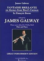 """BORNE F. - Fantasia Brillante sobre Temas de """"Carmen"""" para Flauta y Piano (Galway)"""