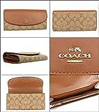 [コーチ] COACH 財布 (長財布) F54022 カーキ×サドル シグネチャー 長財布 レディース [アウトレット品] [並行輸入品]
