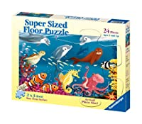 Ravensburger Ocean Life - 24 Piece Floor Puzzle by Ravensburger
