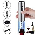 TURATA 電動ワインオープナー 充電式 5点セット ギフト包装 ワインフォイルカッター ボトルストッパー ワインポアラー USBケーブル コルクスクリュー 栓抜き ワインコルク抜き