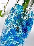 マジッククリスタルボール 大玉タイプ プヨプヨボール ハイドロカルチャー ジェリーボール (ブルー)