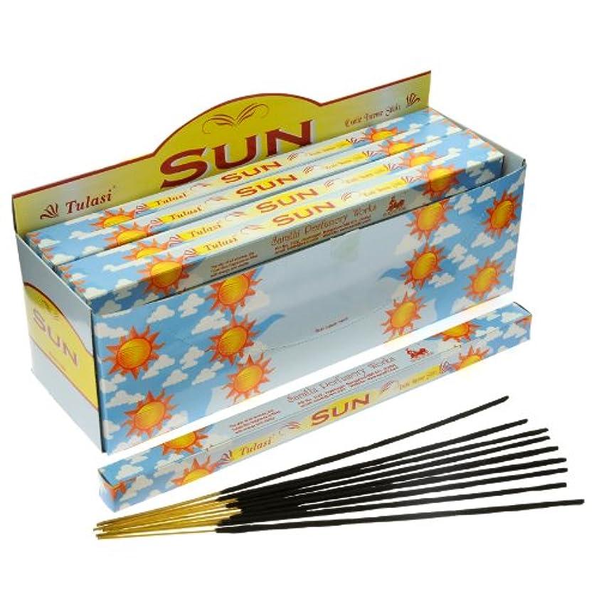 賢いカップエージェント太陽のパック25 Tulasi Incense