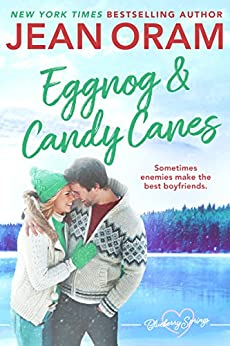 Eggnog and Candy Canes: A Blueberry Springs Sweet Romance Christmas Novella by [Oram, Jean]