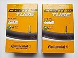 2本セット コンチネンタル(Continental) チューブ MTB 27.5 27.5x1.75-2.5(米式40mm)