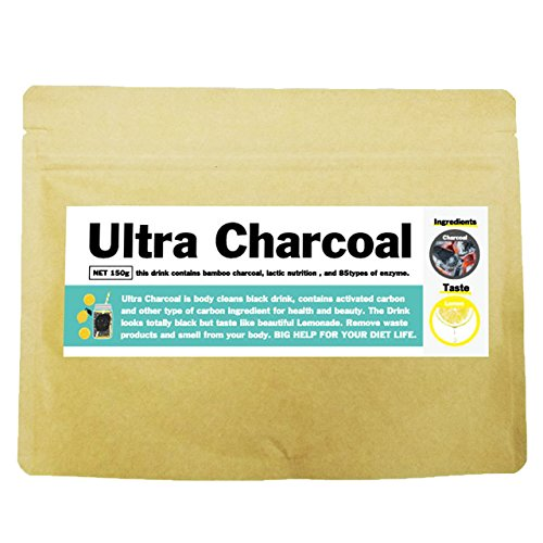 活性炭 チャコールジュース ウルトラチャコール レモネード 150g 30杯分 20種類のアミノ酸 ...