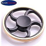Kirinstores(TM) Fidget Spinner EDCフォーカスラウンドホイールフィンガースピナーハンドピジェットスピナースピードスピン