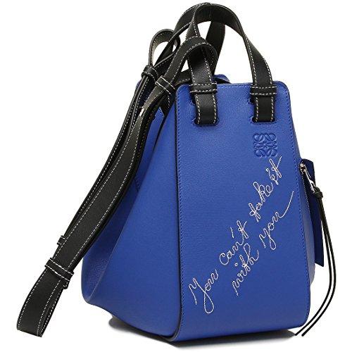 ロエベ バッグ LOEWE 327 30A N60 5560 ハンモック HAMMOCK CANT TAKE IT SMALL BAG レディース ショルダーバッグ ELECTRIC BLUE 青 [並行輸入品]