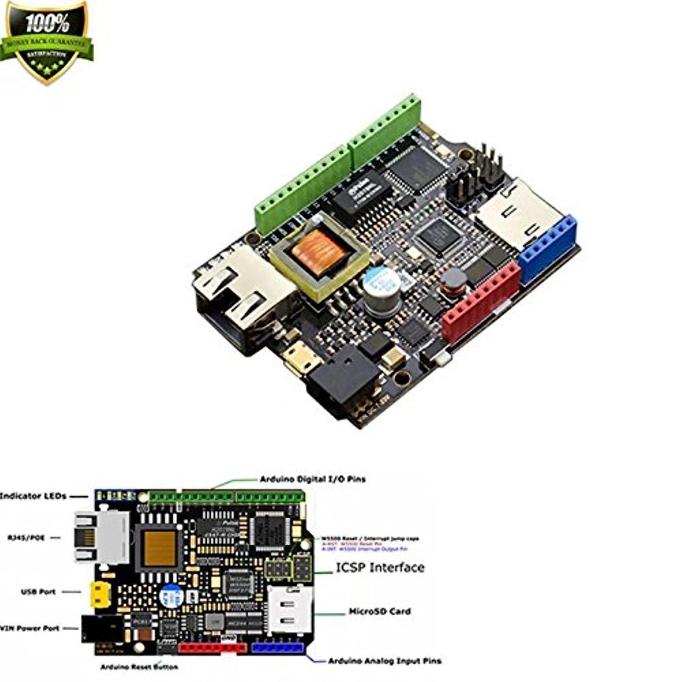 マインドスペインカタログw5500 Ethernet with PoEコントロールボードArduino互換/ w5500チップは、埋め込まHardwired Tcp / Ipイーサネットチップ簡単でのインターネット接続に組み込みシステム