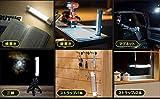 Ecomopo LEDライト 充電式 usb 作業灯 モバイルバッテリー 4400mAh マグネット付き 連続照明26H 5モード点灯 多機能 キャンプ/夜釣り/登山/車中泊/機械修理/防災用にも適用