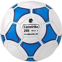 lionstrike軽量レザーサッカーボールサイズ4 (ホワイト)