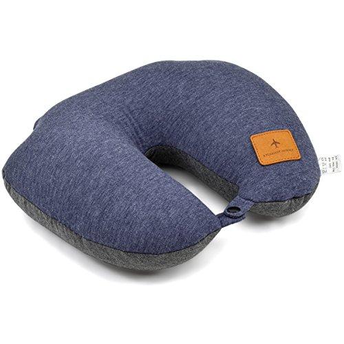 ネックピロー ふんわり [プレックス] ビーズ 2way 【 Uネック×ノーマル 】クッション 携帯枕 全3カラー