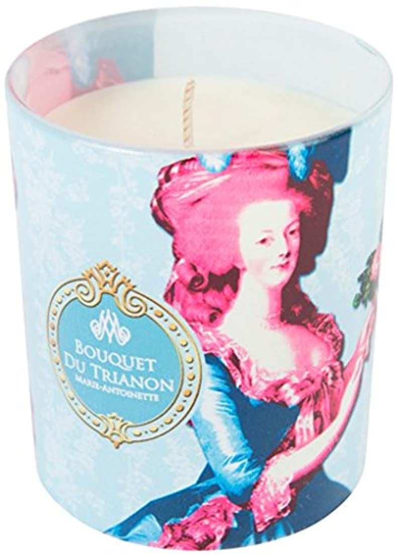 アメリカ歌手プレミアムヒストリア ポップアートキャンドル ブーケトリアノン 色とりどりの花のブーケの香り