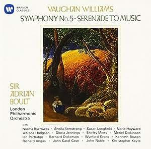 ヴォーン・ウィリアムズ:交響曲第5番 セレナード・トゥ・ミュージック