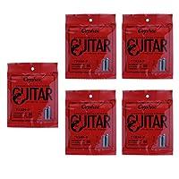 高品質 ギター弦 防錆 アコースティックギター用 ストリング 交換アクセサリー 5個入り 全2種 - TX620P