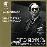 メンデルスゾーン : 交響曲 第3番「イタリア」 4番「スコットランド」 / オットー・クレンペラー&フィルハーモニア管弦楽団 (Mendelssohn : Symphony No.3 & 4 / Otto Klemperer & Philharmonia Orchestra) [CD] [日本語帯・解説付]