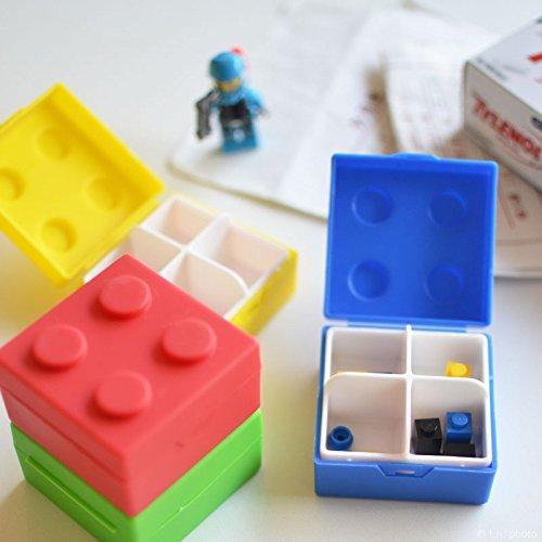 テンション上がる小物入れ。レゴブロック風ピルケース