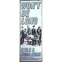 EXILE & KODA KUMI 「WON'T BE LONG」(1) EXILE倖田來未 ポスター
