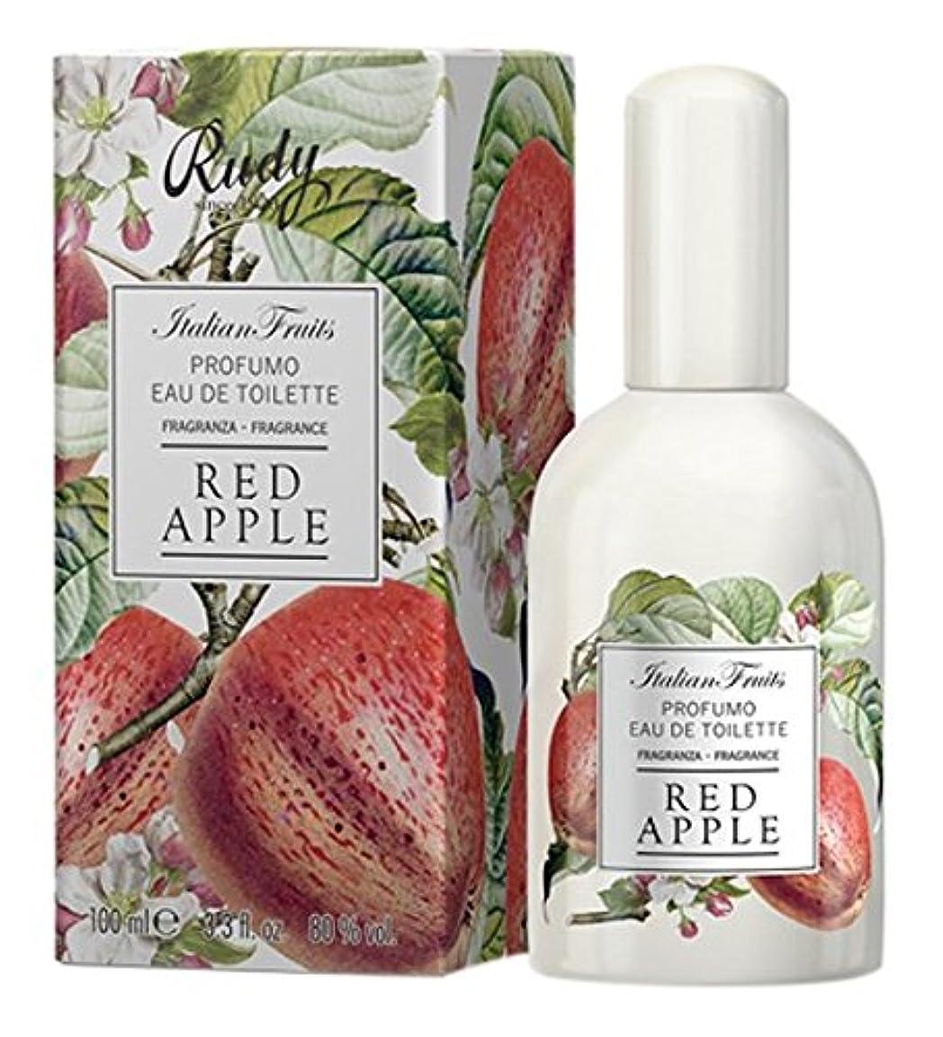 財政今晩葉を集めるRUDY Italian Fruits Series ルディ イタリアンフルーツ Eau De Toilette オードトワレ Red Apple