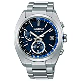 [セイコーウオッチ] 腕時計 アストロン ソーラー電波ライン SBXY013 メンズ シルバー