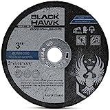 25 Pack 3 x 1/16 x 3/8 Arbor Metal & Stainless Steel Cut Off wheels - for Die Grinders
