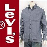 (リーバイス) Levi's モダン ワークシャツ シャンブレー インディゴ Red Tab Shirt 70403-0003 長袖 M(L)