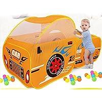 ABSTEPS おもちゃテント - 折りたたみ式 子供用 屋外 おもちゃ 遊び テント 子供 海 ボール プール ピット ゲーム 遊び 家 男の子 女の子 かわいい 車 モデル プレイテント 子供用 1個