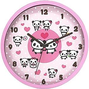 ツイン 掛け時計 パンダ M JT011