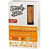 Simply Wize Gluten Free Almond Crispbread, 150 g