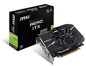 MSI GeForce GTX 1070 AERO ITX 8G OC グラフィックスボード VD6305