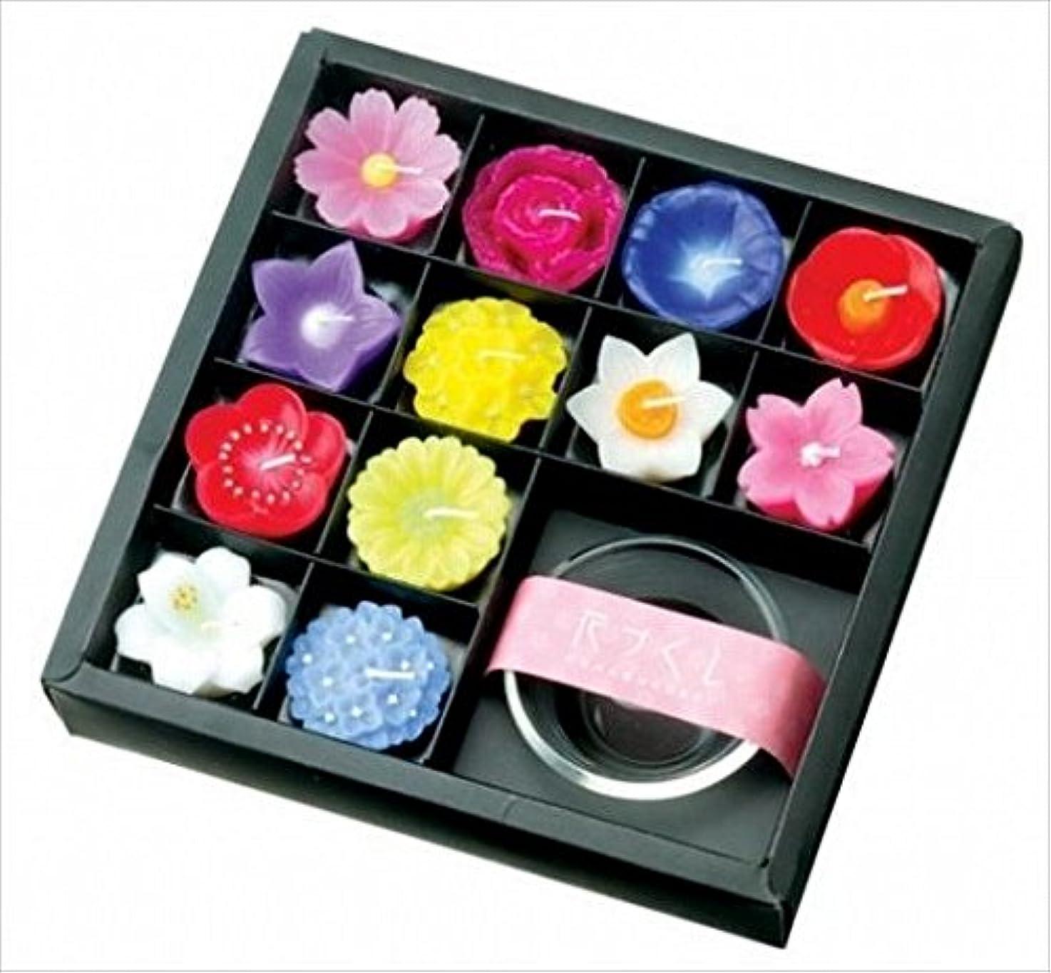 隣接ゆでる重なるkameyama candle(カメヤマキャンドル) 花づくしギフトセット キャンドル(A6099000)
