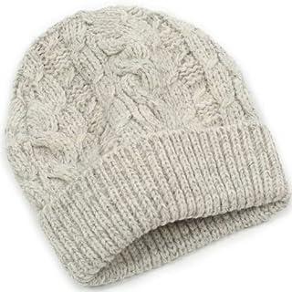 Aran Hat AT05: Light Grey