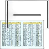 "StoreSMART–磁気フレームリジッドプラスチック–5- Pack–11"" x 17""–a3サイズ–5- Pack–Lean / 5s / Six Sigma–hpp11X 17m-lean-5"
