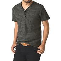 (リミテッドセレクト) LIMITED SELECT M2 畦ワッフル半袖Tシャツ カットソー メンズ
