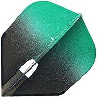 アーキテクス × エルスタイル フライトエル フライト シェイプ グラデーションブラック グリーン flf5016 シャンパンリング対応