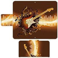 FLAZ NEO ☆ ケース・カバー 完全受注生産 完全国内印刷 スライド式スマホケース 手帳型 イラスト エレキギター SIMフリー SIMカード シムフリー スマホカバー オリジナルデザイン プリント 日本製