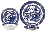 Johnson Brothers Willow Blue 20 Piece DinnerwareSet by Johnson Brothers