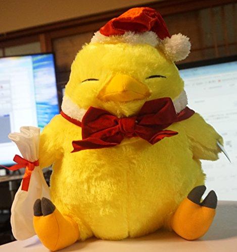 FINAL FANTASY XIV でぶチョコボぬいぐるみ ウィンターver. クリスマス衣装