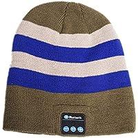 Bluetooth Beanie Hatワイヤレススピーカーヘッドセットヘッドフォンイヤホンマイク音楽ヘッドセットキャップBluetooth 4.1