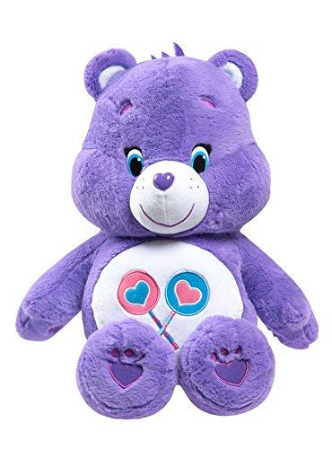 RoomClip商品情報 - ケアベア Care Bear ジャストプレイ JUST PLAY ぬいぐるみ 50cm チアベア シェアベア ファンシャインベア (シェアベア(パープル))